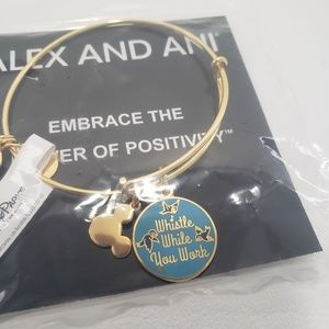 Disney Alex Ani Bracelet Whistle While You Work